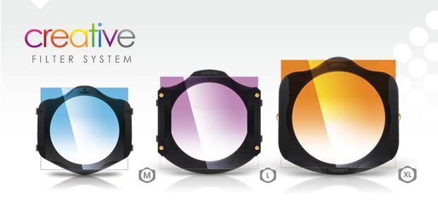 Portafiltros Cokin, serie A, Z-pro y X-pro. Densidad Neutra