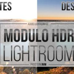 HDR en Lightroom paso a paso.