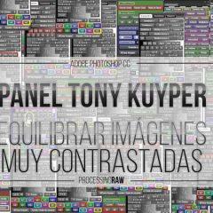 Equilibrar imágenes contrastadas con el Panel Tony Kuyper