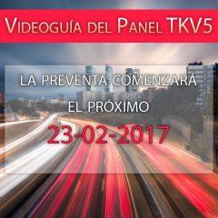 Fecha oficial del inicio de la Preventa de la Videoguía TKV5