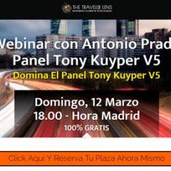 Webinar para aprender GRATIS a usar el Panel TKV5! Regístrate YA!!!!