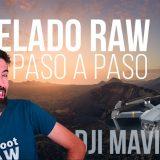 Revelar un RAW del DJI Mavic PRO