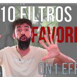 ON1 Effects 10. Mis 10 Filtros favoritos.