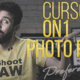 CURSO de ON1 Photo RAW 2018 (I)