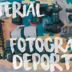 Este material es el que utilizo en mis eventos de fotografía deportiva