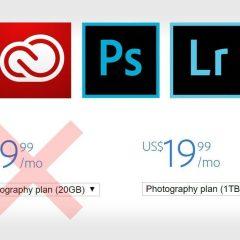 Adobe piensa subir el precio de sus planes 100%