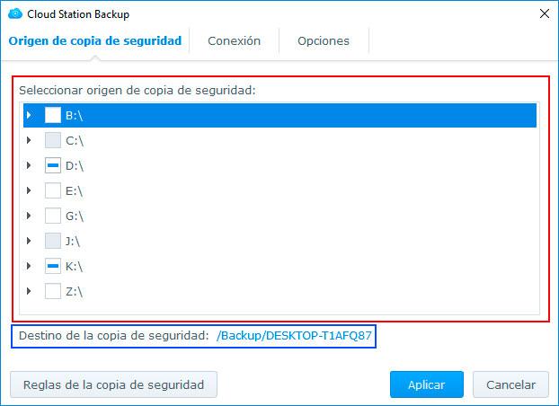 configurar-Cloud-Station-Backup